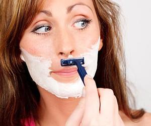 girl-shaving