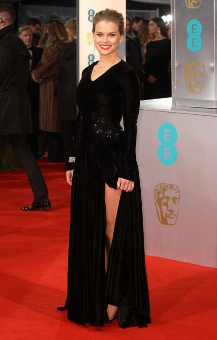 Alice Eve Baftas Awards 2015 Red Carpet Pictures