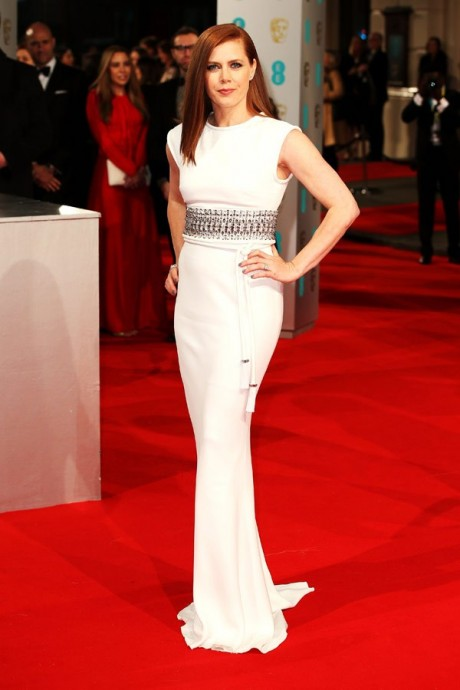 Amy Adams Baftas Awards 2015 Red Carpet Pictures
