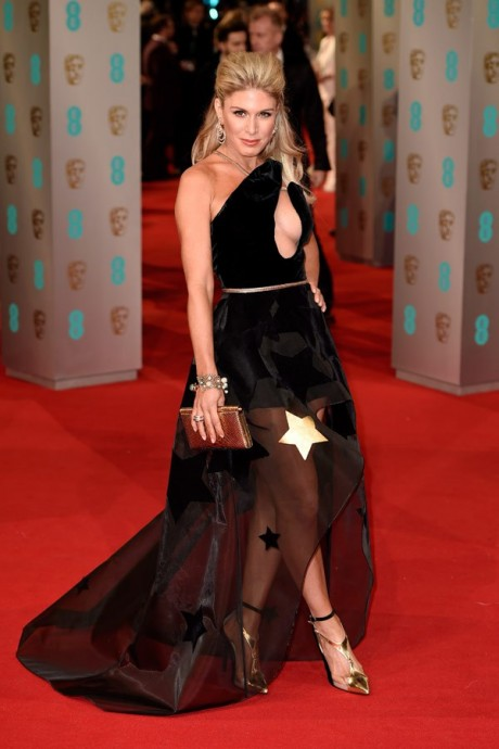 Hofit Golan Baftas Awards 2015 Red Carpet Pictures