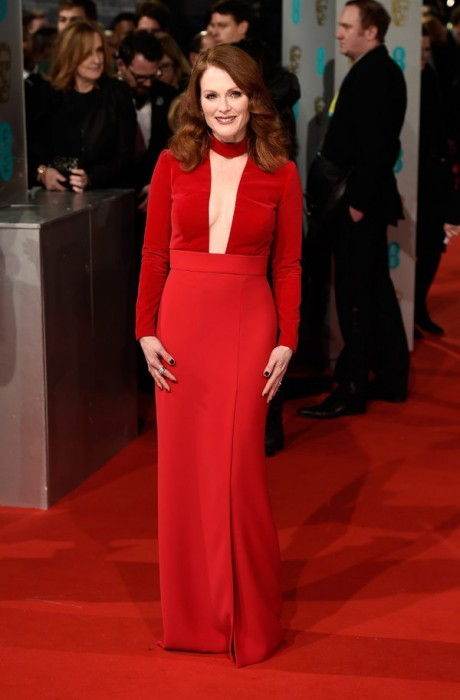 Julianne Moore Baftas Awards 2015 Red Carpet Pictures