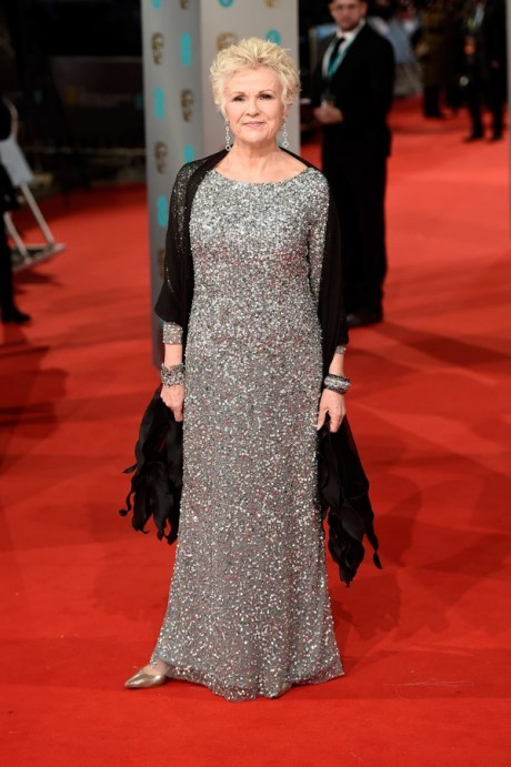 Julie Walters Baftas Awards 2015 Red Carpet Pictures
