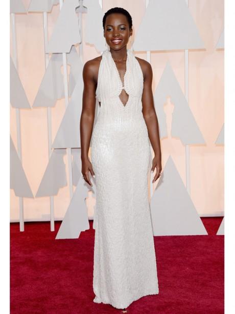 Lupita Nyongo Red Carpet Oscar 2015