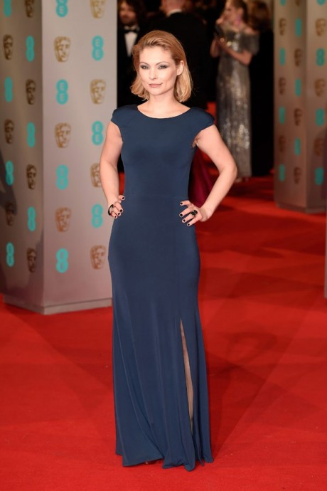 Myanna Buring Baftas Awards 2015 Red Carpet Pictures