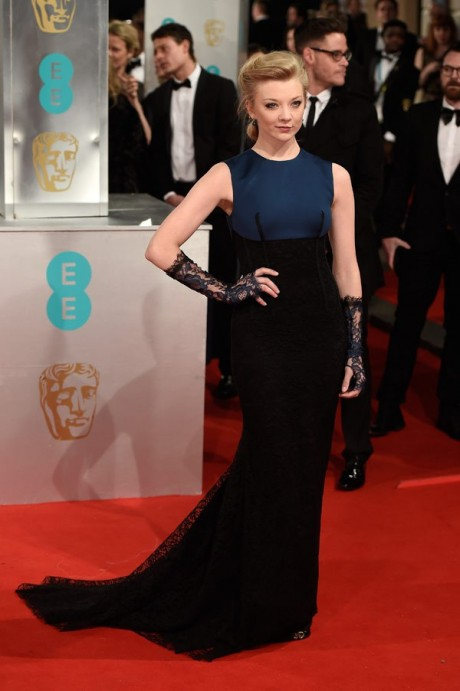 Natalie Dormer Baftas Awards 2015 Red Carpet Pictures
