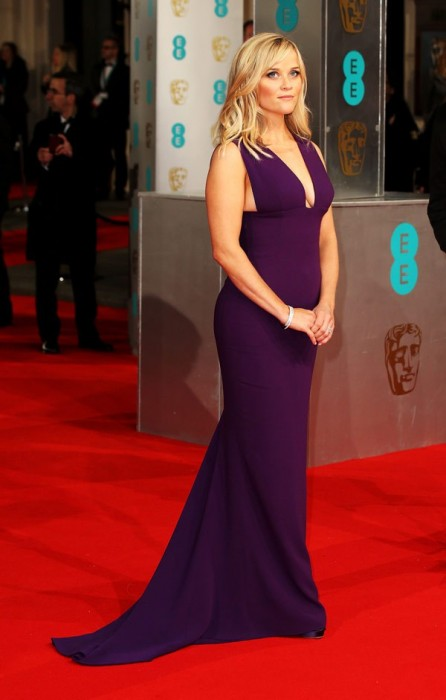 Reese Witherspoon Baftas Awards 2015 Red Carpet Pictures