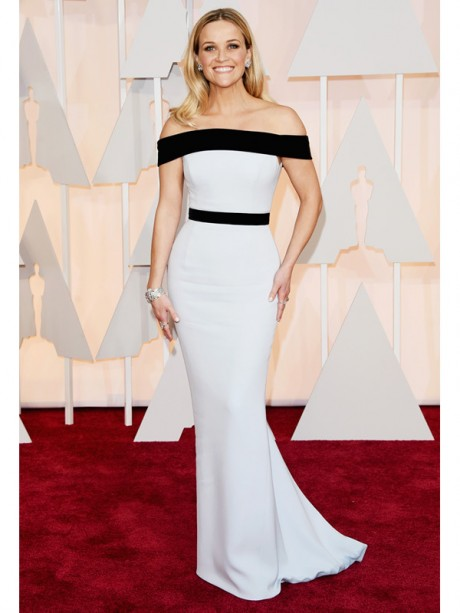 Reese Witherspoon Red Carpet Oscar 2015