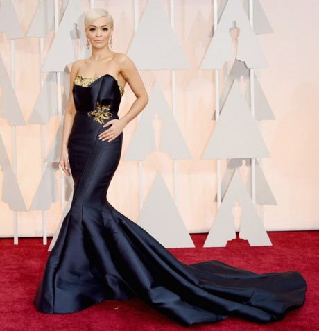 Rita Ora Red Carpet Oscar 2015