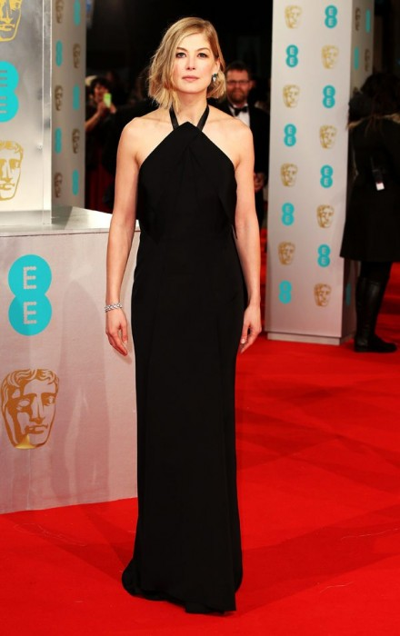 Rosamund Pike Baftas Awards 2015 Red Carpet Pictures