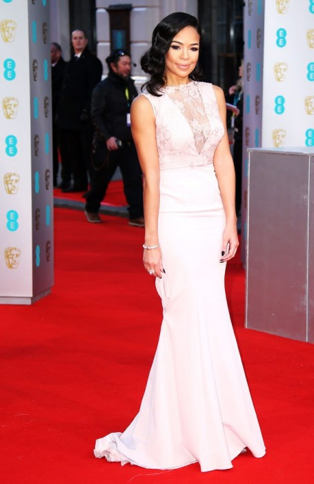 Sarah Jane Crawford Baftas Awards 2015 Red Carpet Pictures