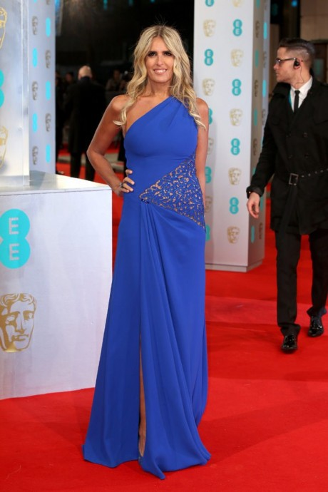 Titziana Rocca Baftas Awards 2015 Red Carpet Pictures