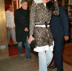 Amal Worked Pair Light Wash Stella McCartney Wide Leg Jeans
