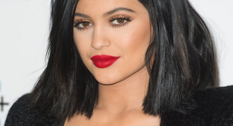 Kylie Jenner Hot Red Lips