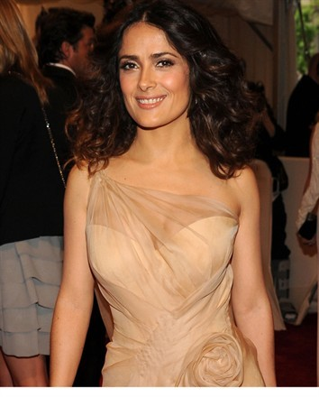 Salma Hayek Sexy Dress