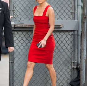 Jennifer lopez Hot Red Dress