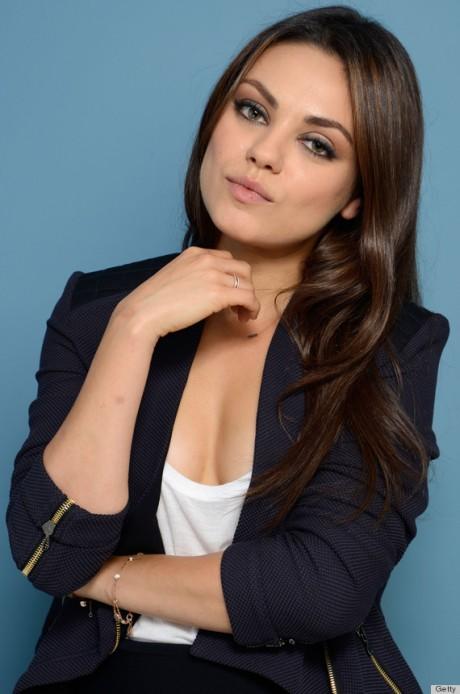 Mila Kunis hot pose