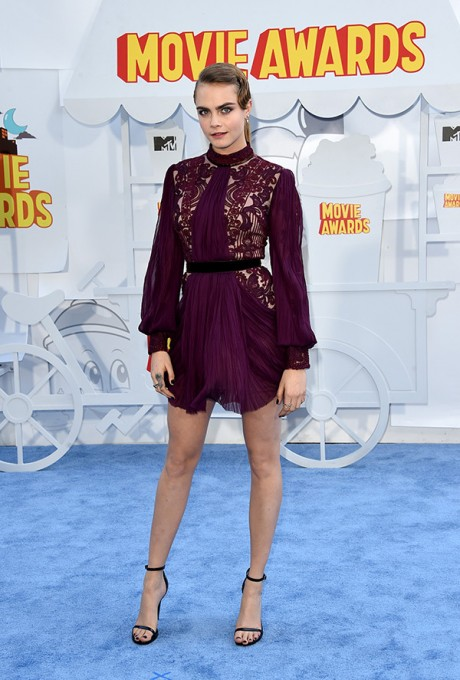 Cara Delevingne MTV Movie Awards 2015