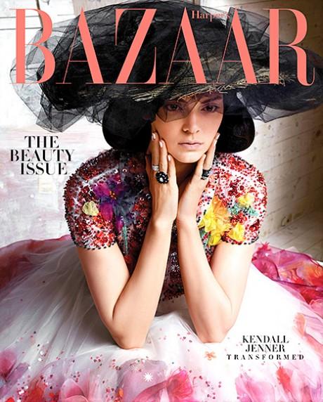 Kendall Jenner Harpers Bazaar Cover Inline