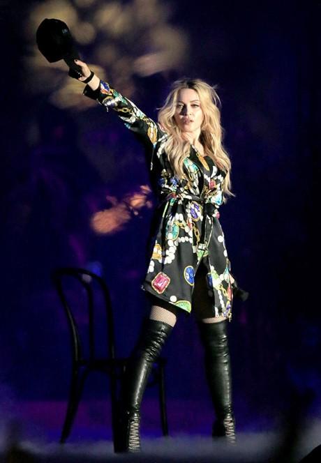 Madonna Drake Make Out Coachella Performance Picture
