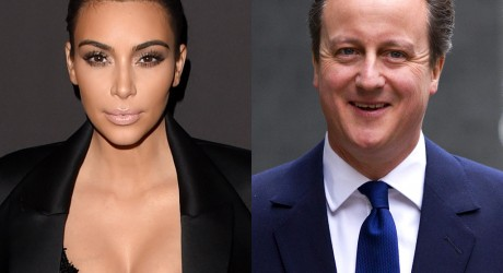 David Cameron and Kim Kardashian