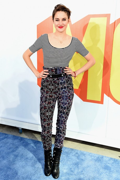 Shailene Woodley MTV Movie Awards 2015 Best Dressed