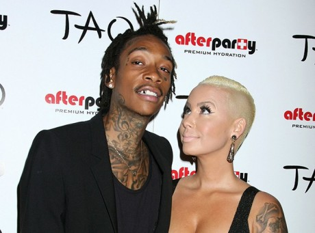 Amber Rose & Wiz Khalifa Picture