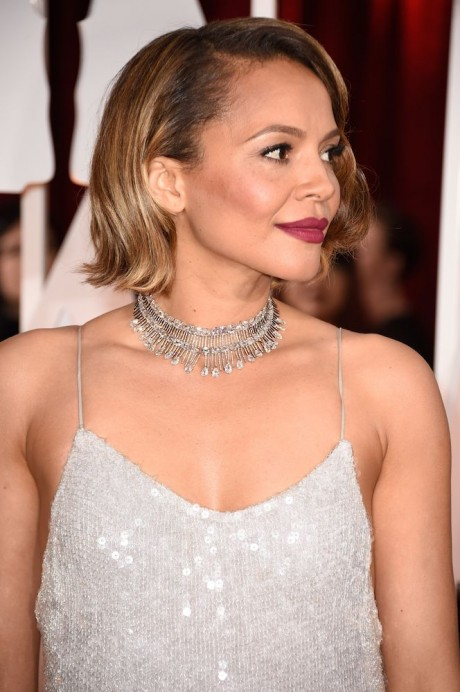 Carmen Ejogo at 87th Annual Academy Awards - Arrivals