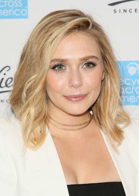 Elizabeth Olsen at Kiehl's 2015 Earth Day Project With Elizabeth Olsen And Maggie Q