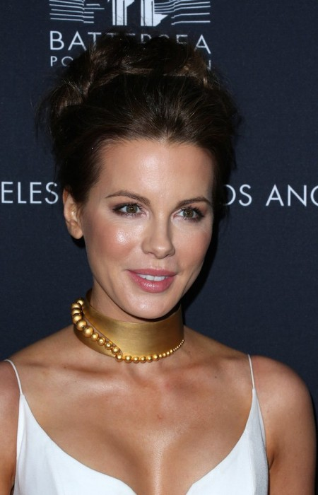 Kate Beckinsale at L.A. Launch Of Frank Gerhy Designed Battersea Power Station