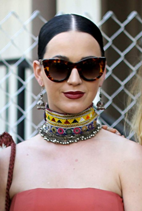 Katy Perry at Street Style At The 2015 Coachella Valley Music And Arts Festival - Weekend 1