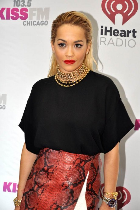 Rita Ora at the 1035 KISS FM's Jingle Ball - Arrivals