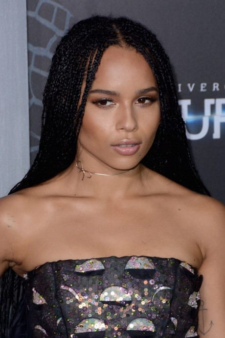Zoe Kravitz at the New York premiere of 'The Divergent Series: Insurgent'