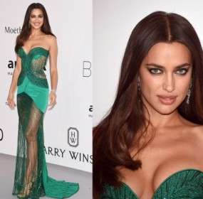 Irina-Shayk-wows-in-strapless-dress-at-the-amfAR-Gala-600x458
