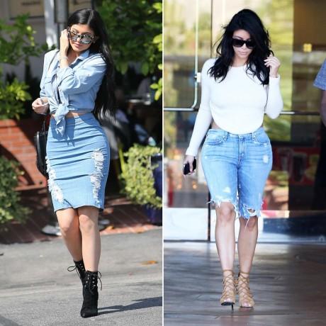 Kylie Jenner Dresses Like Kim Kardashian