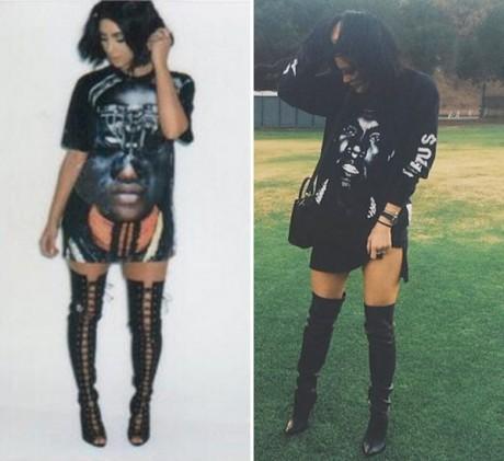 Kylie Jenner Dress Lik Kim Kardashian