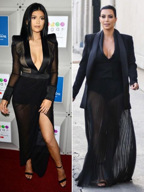 Kylie Jenner Dress Lik Kim Kardashians
