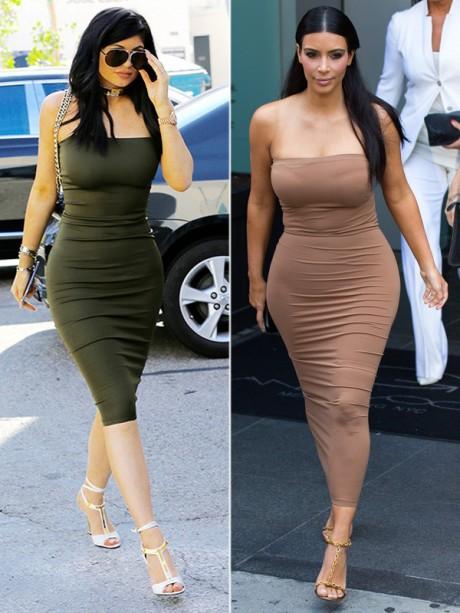Kylie Jenner Dress Lik Kim Kardashians Super Sexy