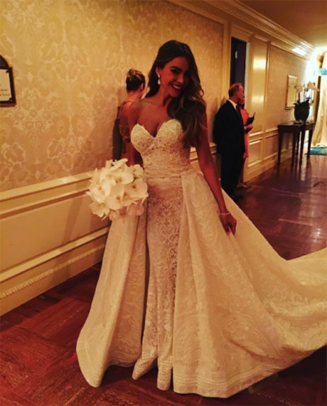 Sofia Vergara & Joe Manganiello Wedding Pictures