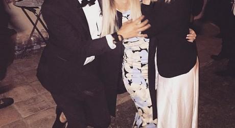 Emma Roberts Bridesmaid Dress