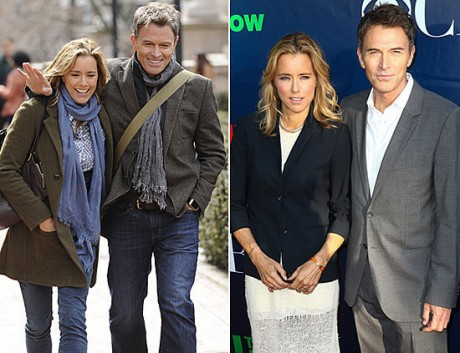 Tea Leoni and Tim Daly