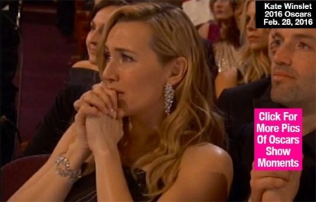 Kate Winslet Leonardo Dicaprio in Tears Lead