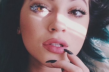 Kylie Jenner Natural Colored Lips