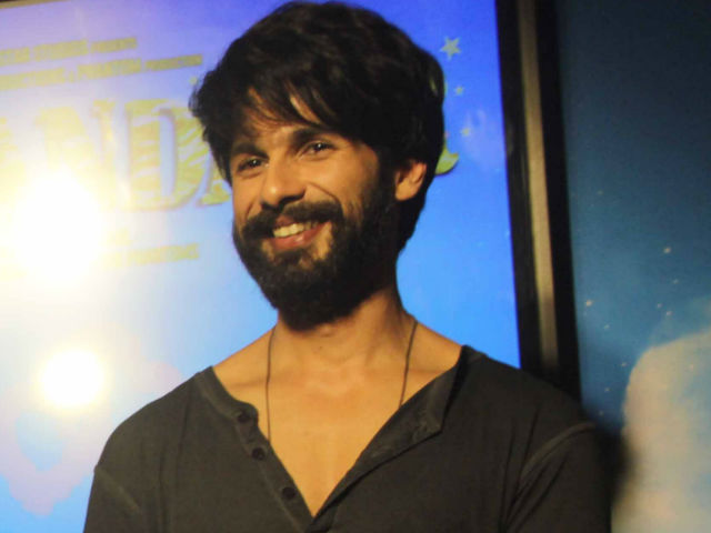 Shahid Kapoor in Rangoon