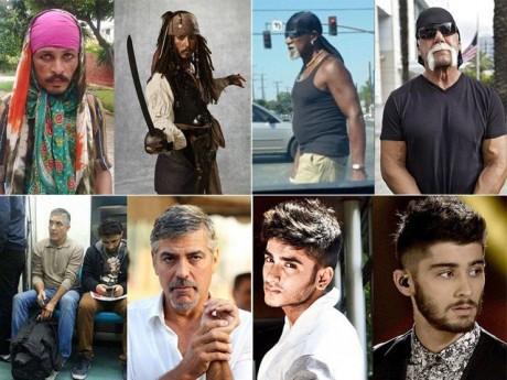 Look alike famous people