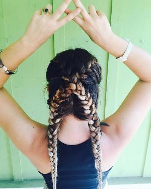 crisscross-pigtails
