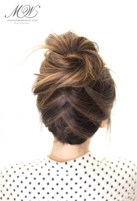 tuexedo-braided-bun