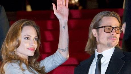 Brad Pitt and Angelina Joolie