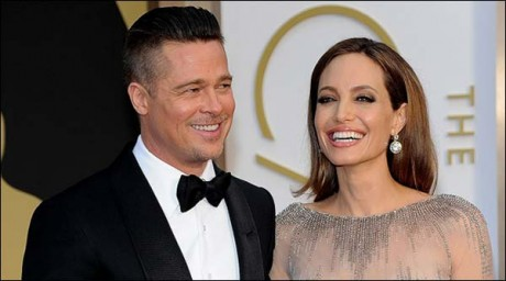 Brad Pitt and Angelina Joolie