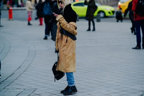 Russia Street Style Fashion Week