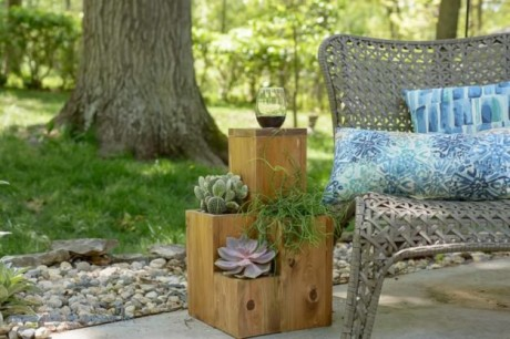 Create cute outdoor spaces